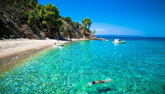Mooiste eilanden van Griekenland Chalkidiki