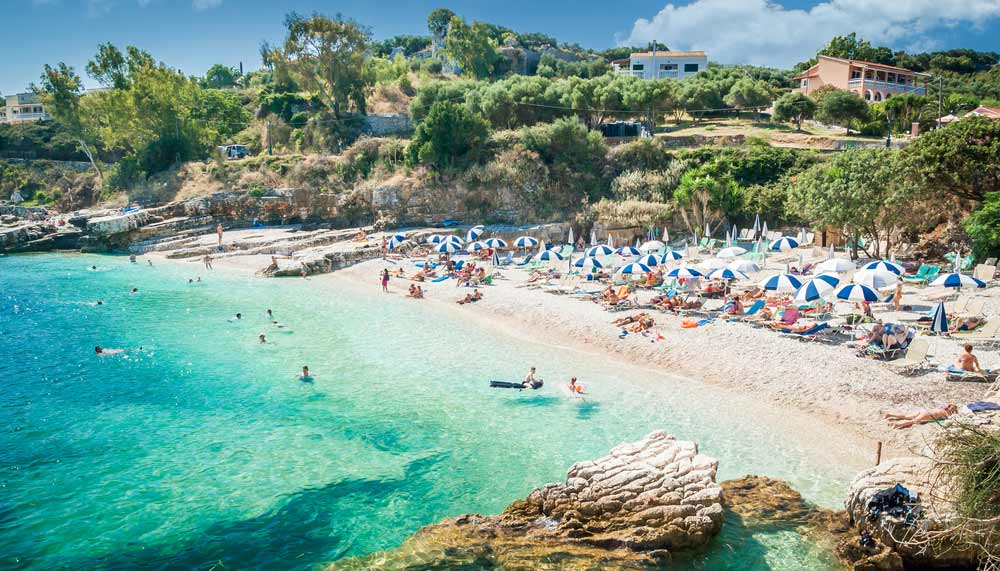 corfu mooi grieks eiland