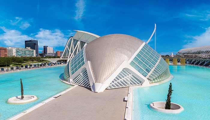 Mooiste Steden Europa Valencia