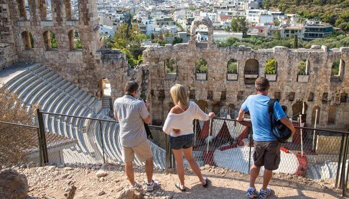 Mooiste steden van Europa Athene