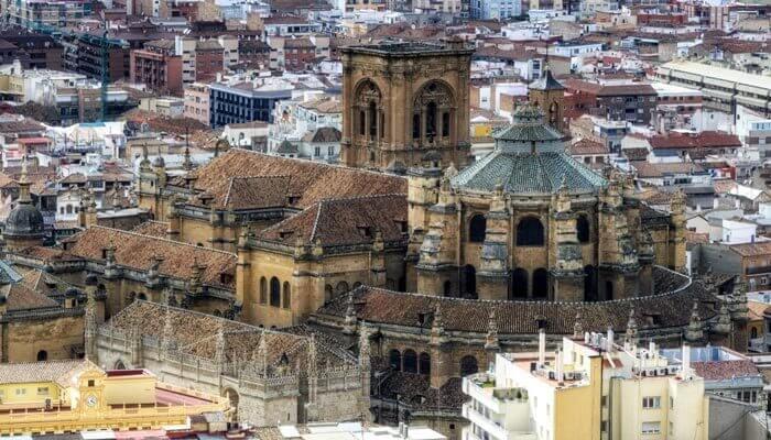 Mooiste steden van Europa granada