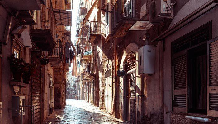 Mooiste steden van Europa Napels