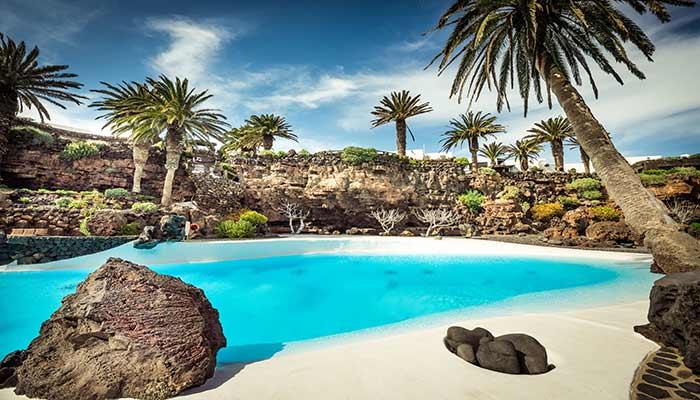 Canarische eilanden weer oktober