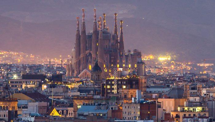 Sagrada Familia mooiste plek in spanje