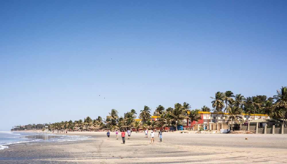 kotu beach gambia