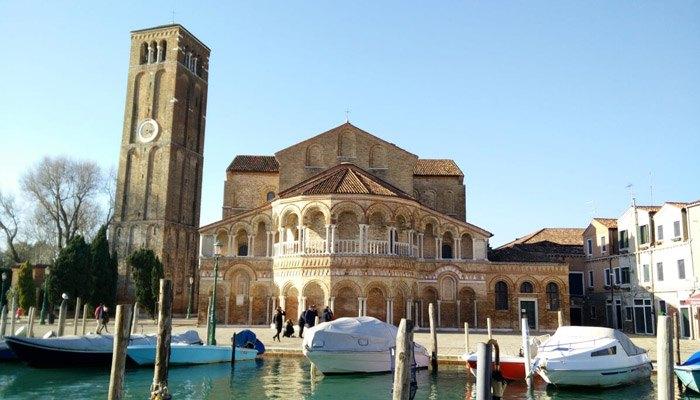 De kerk van Santa Maria e San Donato op Murano