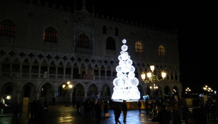 San marco plein kerst