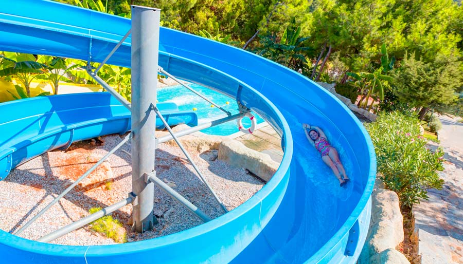Waterpark in Bordrum