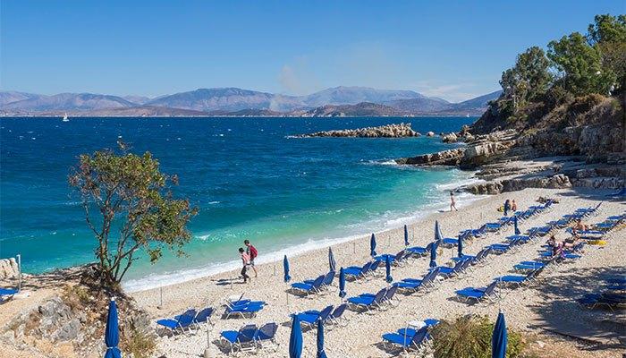 mooiste stranden Corfu