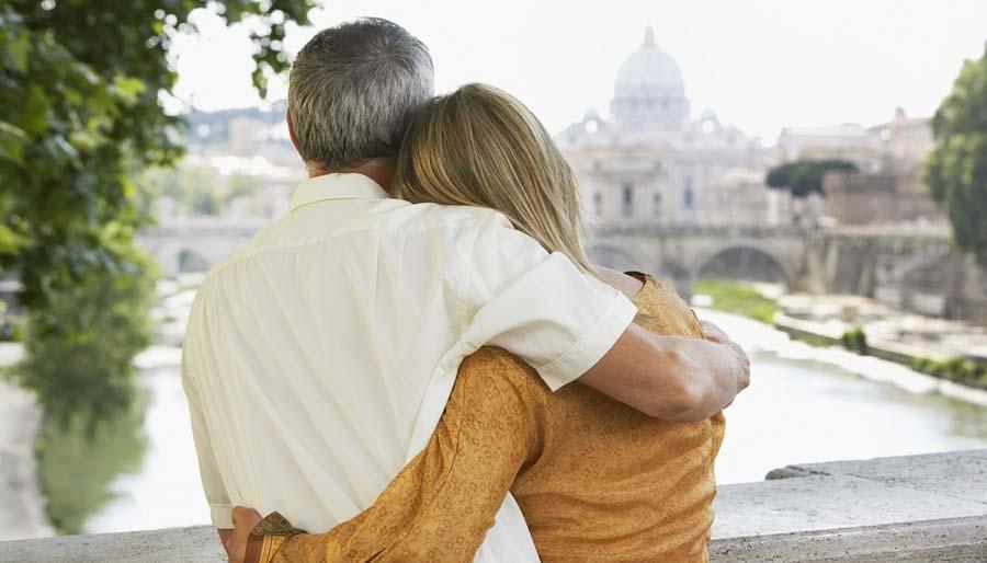 romantische vakantie rome