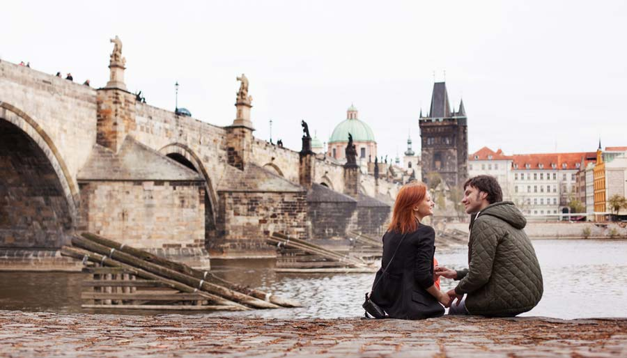 romantische bestemming praag