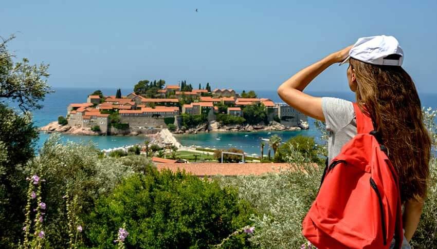 Onbekende vakantiebestemming montenegro