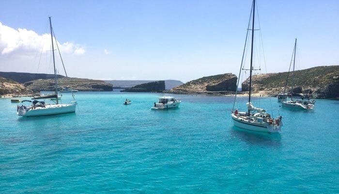 Bezienswaardigheid malta blue lagoon camino
