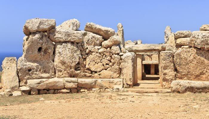 Bezienswaardigheid malta megalitische tempel