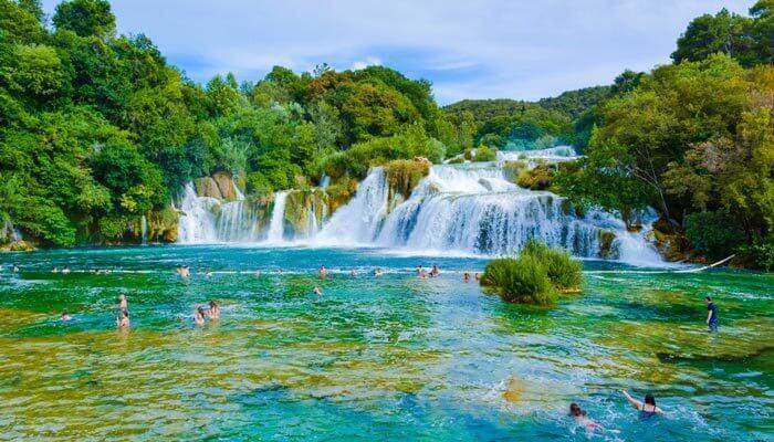 vakantie kroatie tip krka