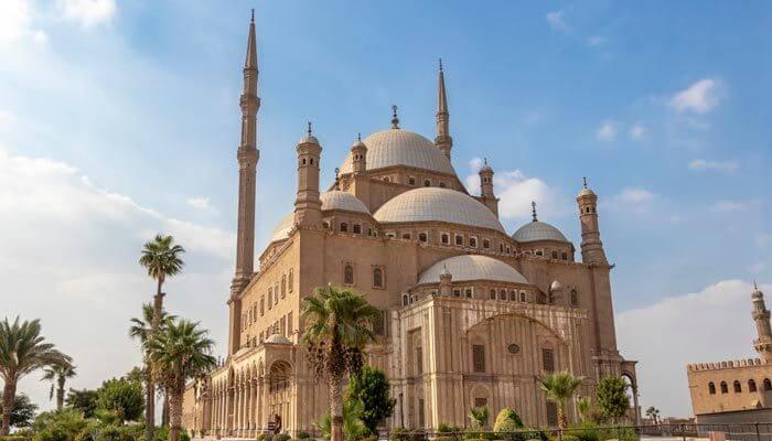 vakantie egypte muhammed ali moskee