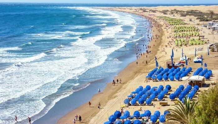 mooiste stranden gran canaria playa del ingles