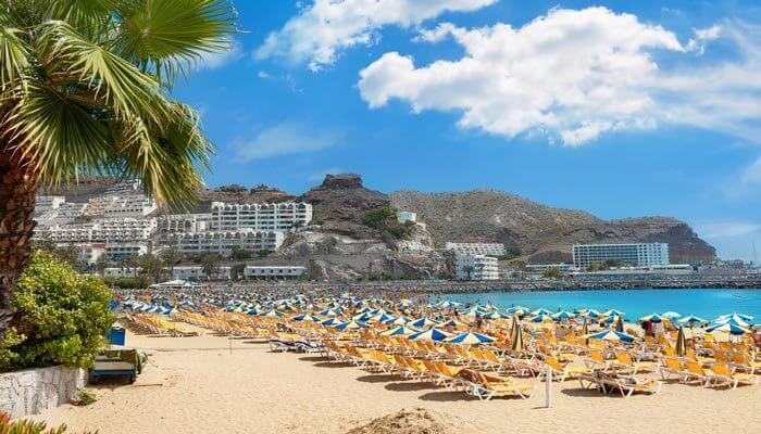 mooiste stranden gran canaria puerto rico