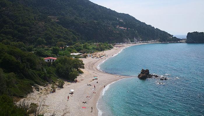 Potami Beach, Karlovassi, Samos