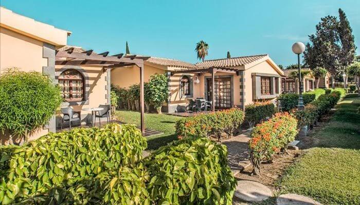 leukste bungalows gran canaria maspalomas dunas resort