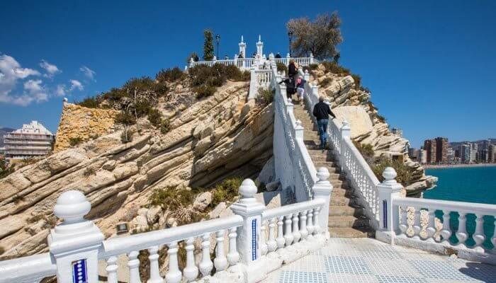 overwinteren benidorm balkon van de middelandse zee