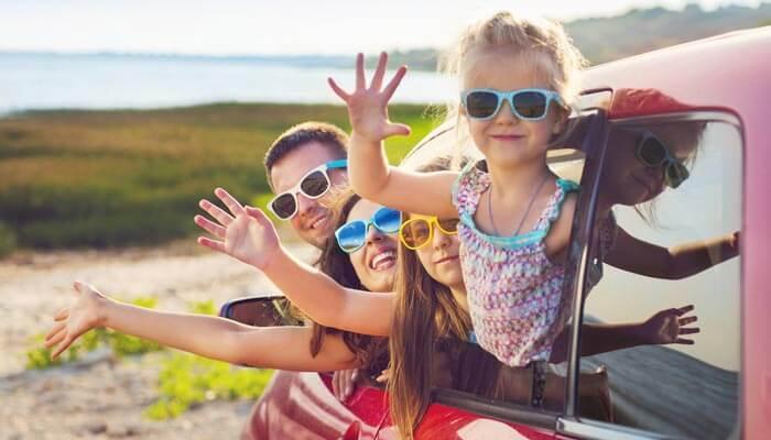 auto huren op vakantie met gezin