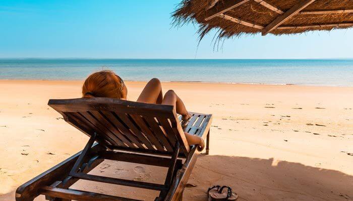 Waar is het warm in december gambia