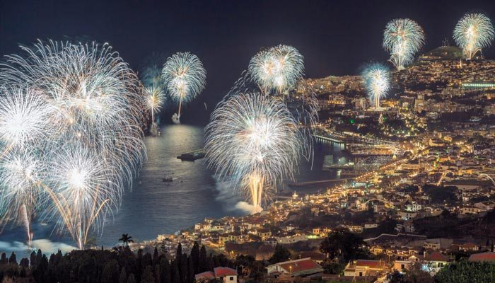 madeira in december vuurwerk