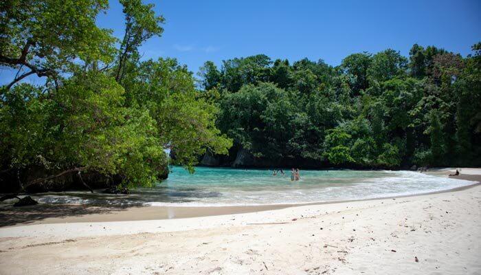 Waar is het warm in januari Jamaica