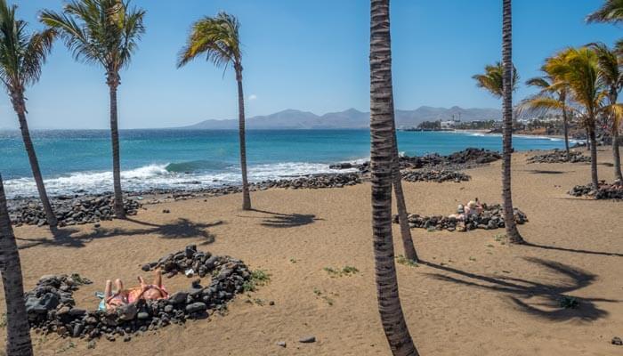 mooiste stranden lanzarote playa grande