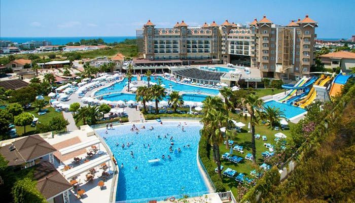 Hotel Turkije met glijbanen