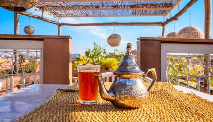 verste muntthee marrakech marokko