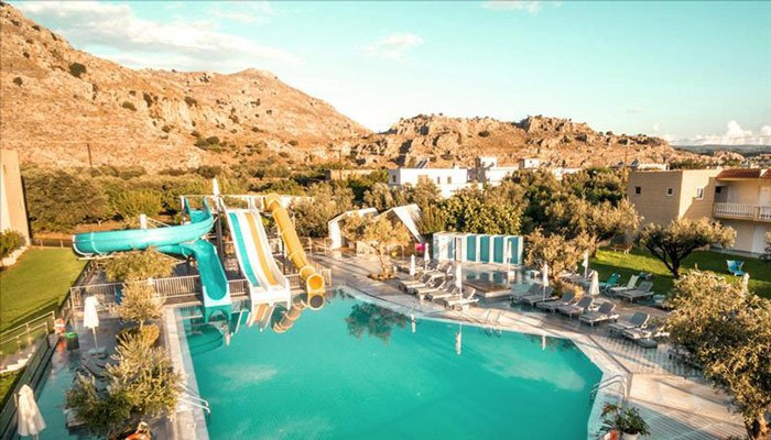 Hotel met glijbanen Griekenland