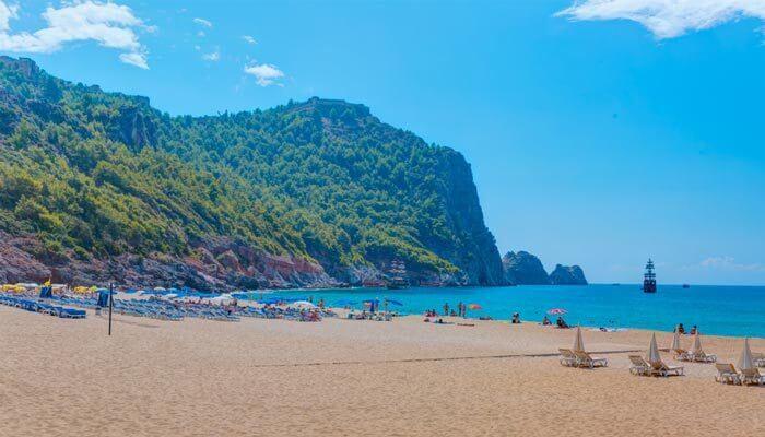 cleopatra strand mooiste stranden van turkije alanya