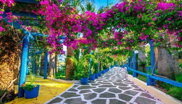 griekenland in de lente