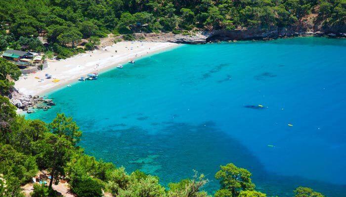 mooiste stranden van turkije de baai van kabak
