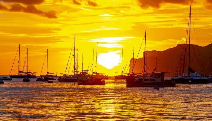 zonsondergang santa ponsa bezienswaardigheden mallorca