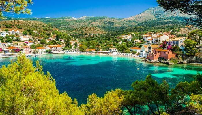 ionisch eiland kefalonia warmste eilanden griekenland