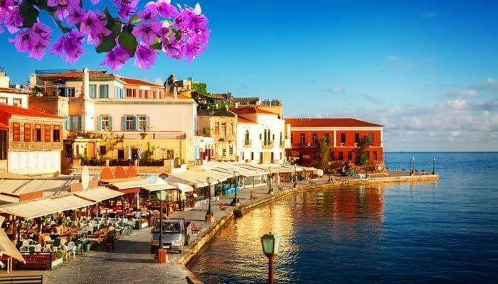 warmste eilanden griekenland