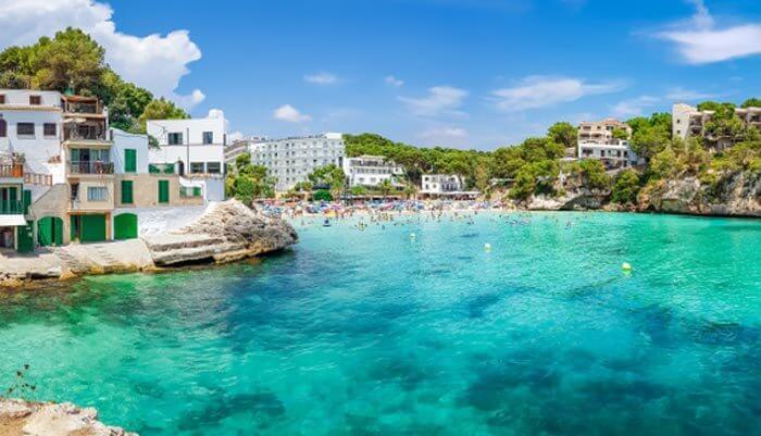 Mooiste baaien mallorca  cala santanyi strand hotels