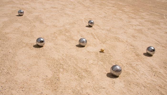buitenlands spelletjes jeu de boule