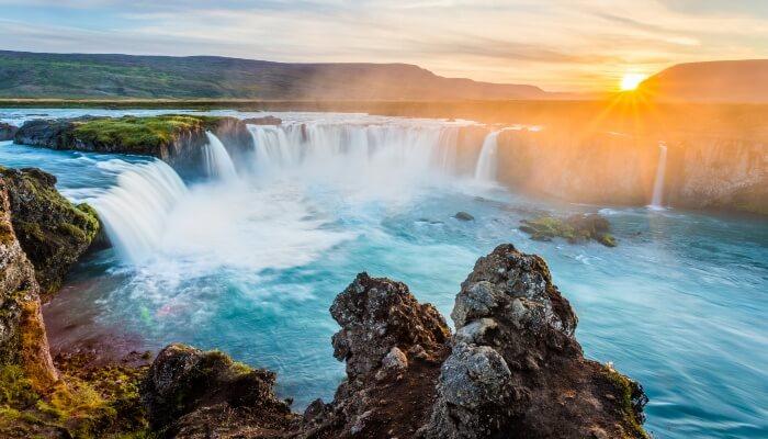 Waterval IJsland Godafoss