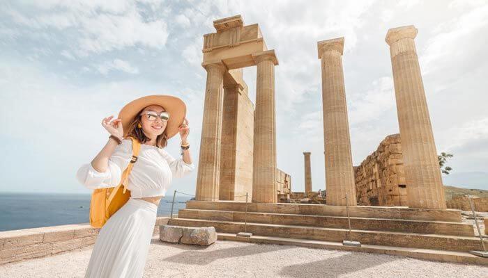 op vakantie naar griekenland in september