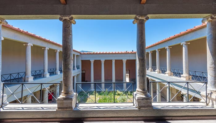 bezienswaardigheid kos casa romana