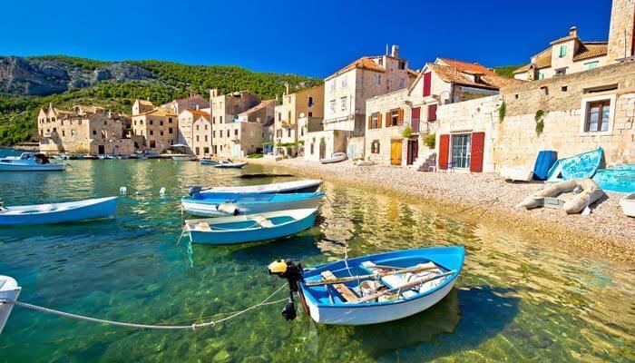 op vakantie naar kroatie in september