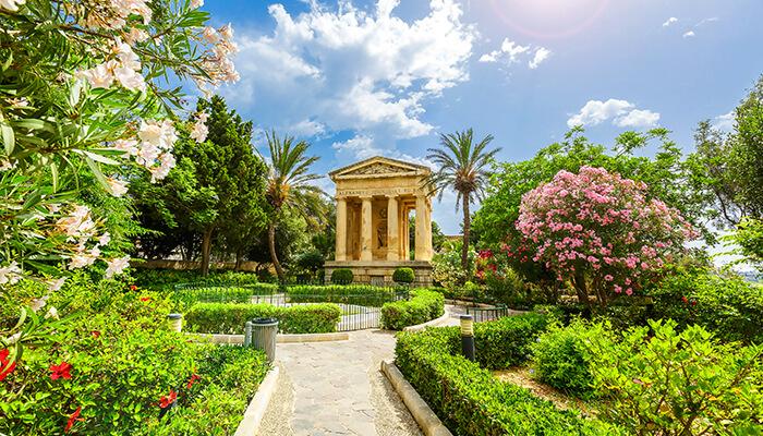 Bezienswaardigheden Valletta Lower Barrakka Gardens