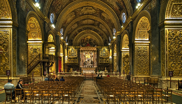Bezienswaardigheden Valletta - Sint-Jansco kathedraal