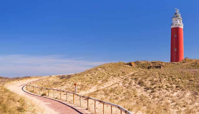 Vuurtoren Texel - Vakantie Waddeneilanden