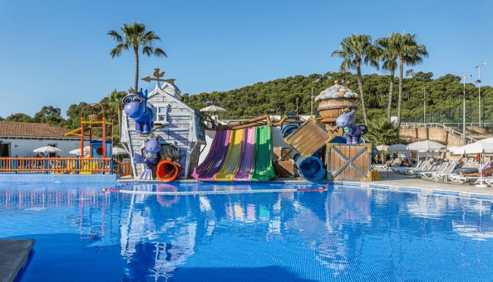 Hotels met glijbaan Mallorca - Fergus Club Europa