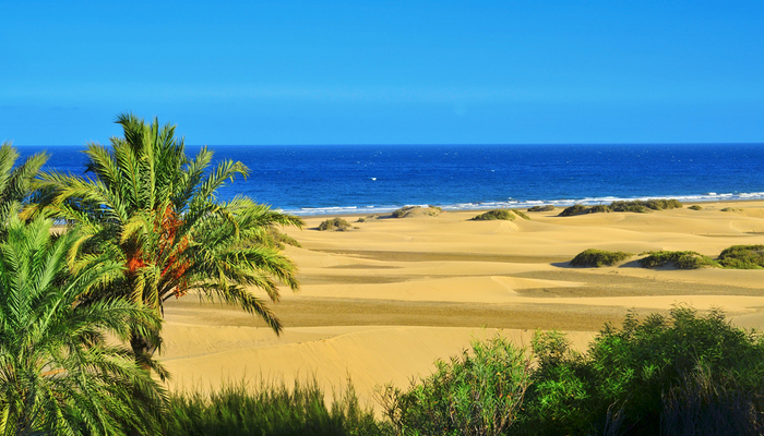 Waar is het warm in oktober - Gran Canaria